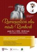 Reprezentační ples města Rumburk - obrázek