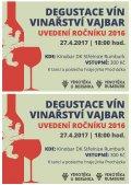 ŘÍZENÁ DEGUSTACE VÍN VINAŘSTVÍ VAJBAR - UVEDENÍ ROČNÍKU 2016 - obrázek