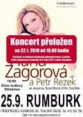 Exkluzivní koncert Hany Zagorové a Petra Rezka se skupinou Jiřího Dvořáka Boom Band - obrázek